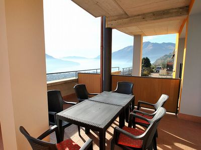 Photo for Casa Osmanto H: A cozy and welcoming apartment situated at a short distance from the shores of Lake Como, with Free WI-FI.