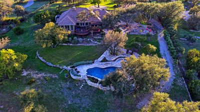 Photo for Sprawling 3 acre Hilltop Estate w/ Endless Views of the Famed Texas Hill Country