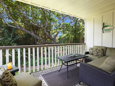 Photo for Waikomo Stream Villas #423: Premier Interior and Great Central Poipu Location!