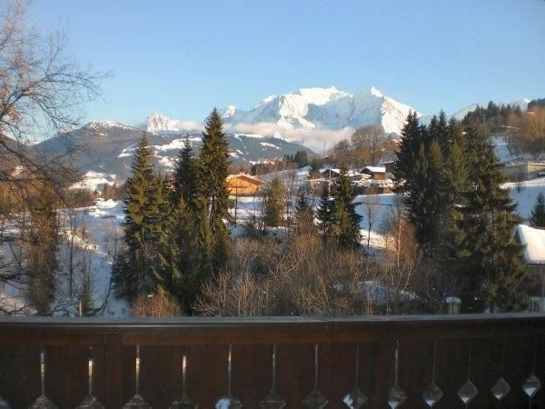 Appartement Combloux 5 couchages face Mont Blanc