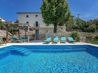 Photo for House near Brsec, on large property with private pool and beautiful view