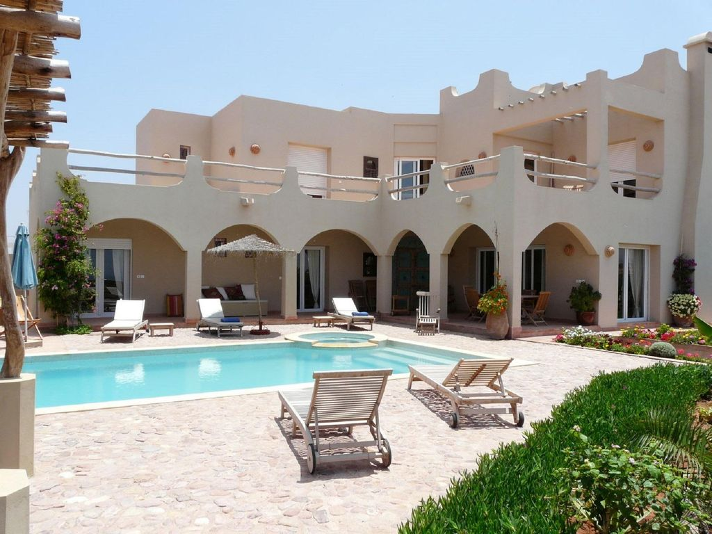 Big House Villa In Mirleft With Lovely Garden And