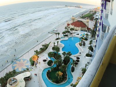 Photo for Wyndham Ocean Walk  - 3 Bedroom Ocean Front with free Wi-Fi