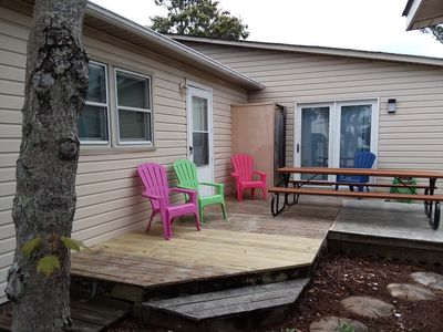 Photo for RandyAndDonnasBeachHouseSurfside, 4BR 2.5 Bath Sleeps 11 Golf Cart Included