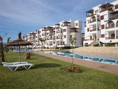 Photo for Beautiful two bedroom apartment with gorgeous sea views