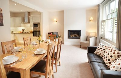 Photo for 3 Palace Yard, a stunning four storey townhouse with games room and parking near Hereford Cathedral
