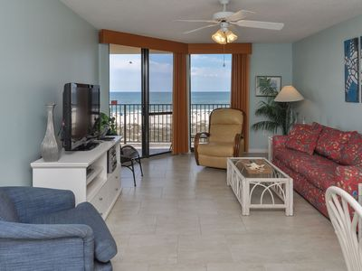 Photo for 2 Bedroom BEACH FRONT Condo on the 5th Floor at Phoenix 7