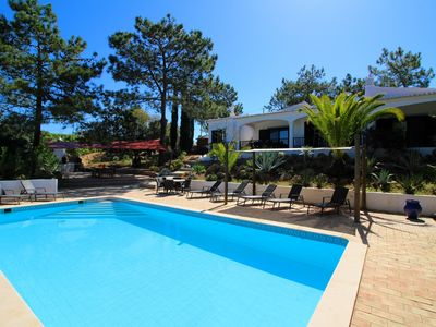 Photo for Villa Rosa, Luxury, Tranquil area, BBQ & Large Pool