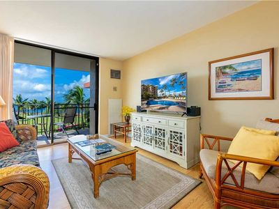 Photo for Kauhale Makai 1 bedroom Ocean view condo located on Top Floor. #627