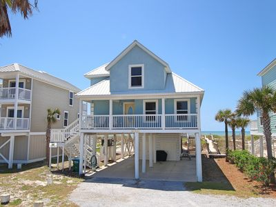 Photo for Gulf-front with awesome views, large sunning deck