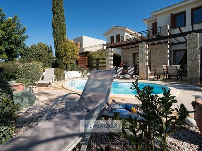 Photo for Paphos Villa, Sleeps 4 with Pool, Air Con and WiFi