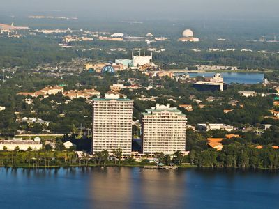Photo for 1BR Hirise at  Blue Heron Resort -Disney 1mi Away- Great. View