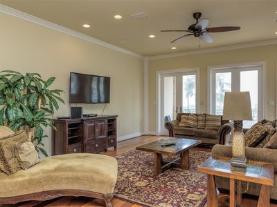 Photo for Gulf Paradise A: 3 level LUXURY townhome across from BEACH w/POOL!  2 AVAILABLE!