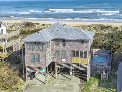 Photo for Panorama - Lovely 5 Bedroom Oceanfront Home in Avon