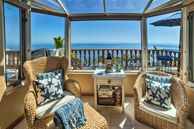 Pacific Ocean views are ready to greet you from this exquisite villa.