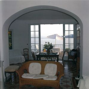 Living Room with View over the Bay