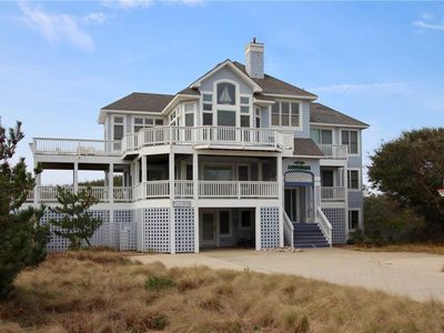 Photo for #PI155: Partial OCEANVIEW in Corolla w/PRVTPool, HotTub & RecRmw/PoolTable