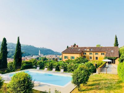 Photo for Villa, hills, organic vineyards and stunning private pool very close to Verona