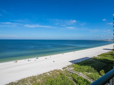 Photo for Watch the waves roll in from the balcony of this beachfront condo!  Complex with pool and tennis....