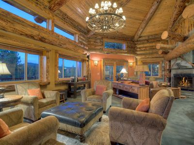 Photo for Luxury Mountain Log Home Minutes from Downtown Durango
