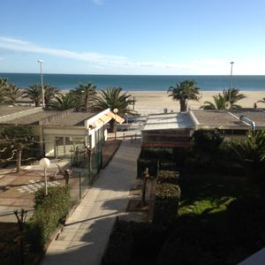 Photo for Studio 4 places with a large balcony with sea view + secure parking