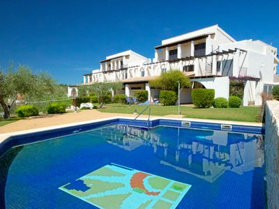 Photo for Casa G incredible sea-views, garden, pool & beach at just 200m