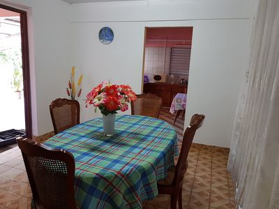 Photo for 2 bedroom detached house, comfortable, equipped, air conditioned, with Wifi