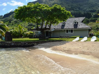 Photo for Beautiful house by the sea with private beach