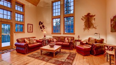 Photo for Mountain Lodge at Snowshoe: Secluded Peak 7 Home w/ Hot Tub & Grand Views