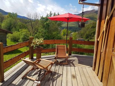 Photo for Homerez last minute deal - Big chalet with mountain view