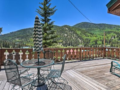 Photo for NEW! Red River Cabin w/Mtn-View Deck, Near Main St
