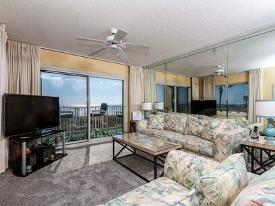 Beautiful gulf views from this first floor condo - Direct balcony access from the living room and master bedrooms making SL 101 a treat to rent!