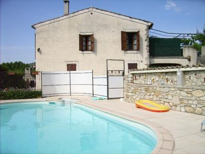 Photo for Holiday rental with fenced pool -  Alpes de hautes provence