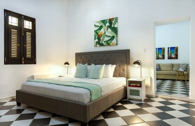 Photo for Colonial Suite   1 Bedroom with direct access to buildings courtyard in Old San Juan