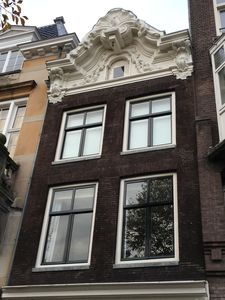 Front of the Herengracht Canal Apartment