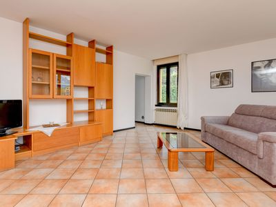 Photo for Holiday Apartment with Wi-Fi, Pool and Garden; Garage Available; Pets Allowed
