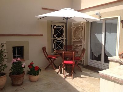 Photo for Large Studio 50 m2 on the ground floor with pool access, separate entrance
