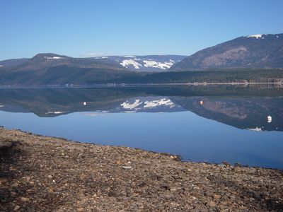 Photo for Beautiful Pet-Friendly Semi-Waterfront Spacious Property on Shuswap Lake