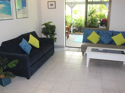 Photo for Stunning ,fully self contained ,2 bedroom apartment, just 200 metres from beach.