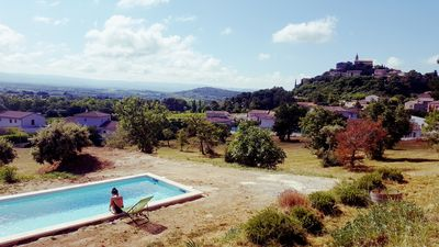 Photo for Villa Crillon Le Brave / Bedoin / Mont Ventoux heated pool