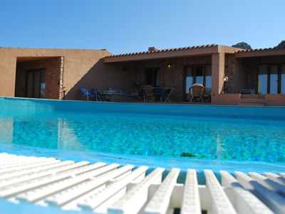 Photo for Villa with shared pool, sea view 350 meters from the sea