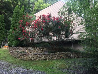 Photo for Secluded Mountain Chalet On The Tye River at Crabtree Falls - Pet Friendly
