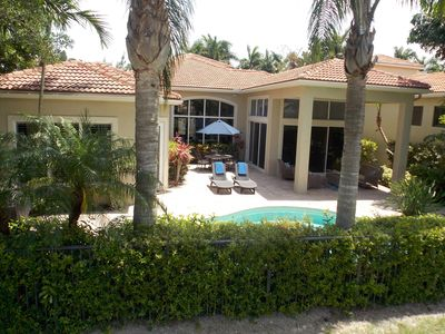 Photo for Gorgeous Luxury Home W/pool And Spa - Private Paradise In Country Club Community