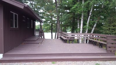 Photo for Mike's Five Bedroom Chalet on Eagle River Chain