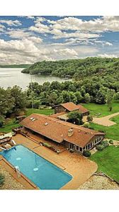 Photo for Beaver Lake House Private Pool & Boat Docks, Amazing Views,Lake Front,Easy Walk
