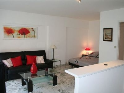 Photo for CANNES STUDIO 4 BEDDING MODERN AND SPACIOUS