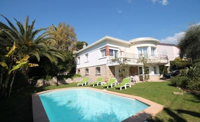 Photo for Nice holiday home for 8 people with private pool near the beach of Cannes