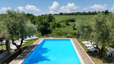 Photo for Visit our beautiful estate in the country of Umbria