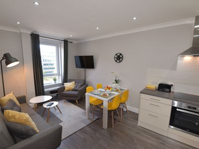 Photo for Modern and tastefully decorated apartment on the doorstep of Holyrood Park
