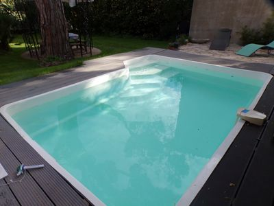 Photo for IN VILLA APARTMENT GROUND FLOOR PRIVATE SWIMMING POOL